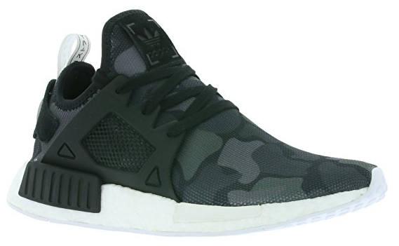 Adidas Camo Sneaker schwarz