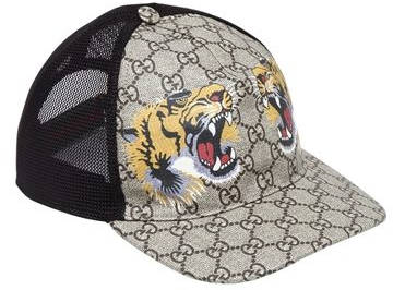 Capital Bra Gucci Cap mit Tiger