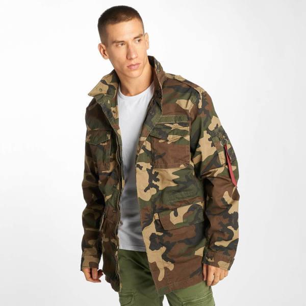 Farid Bang Jacke Camouflage
