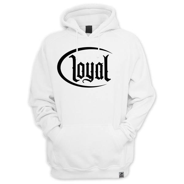 Kontra K Hoodie Loyal weiß
