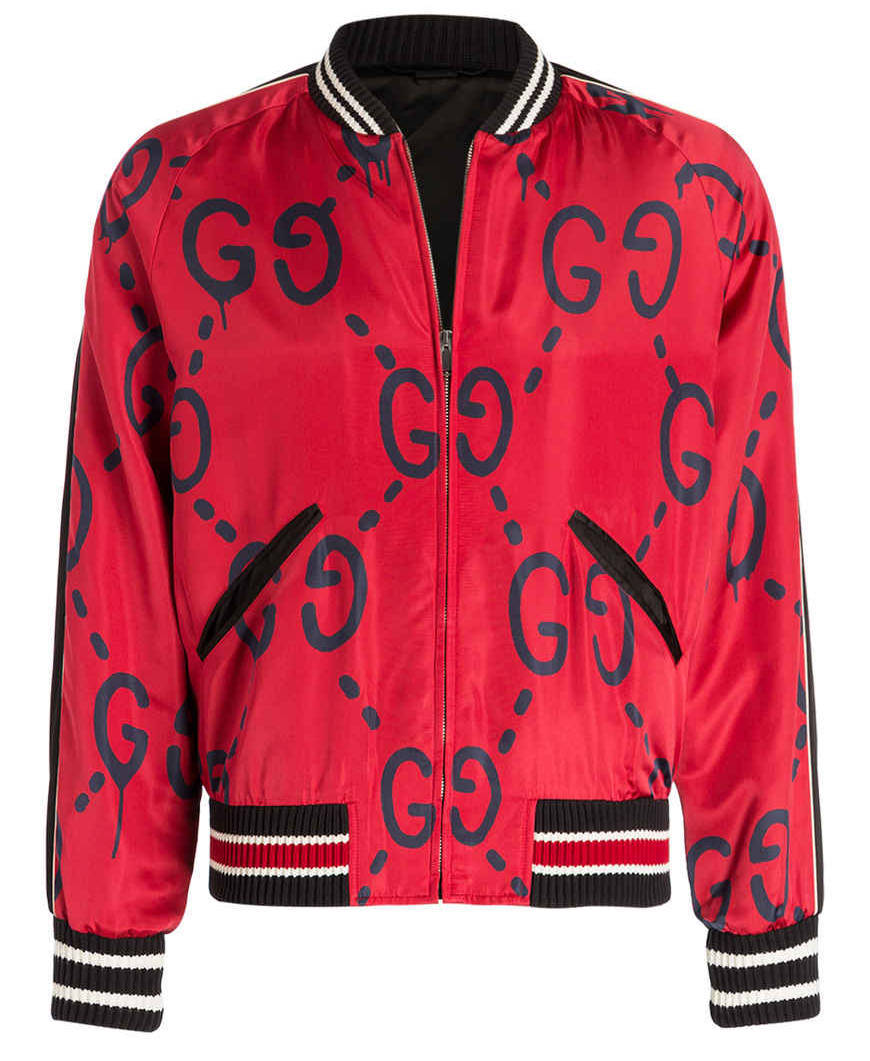 PA Sports Jacke Gucci rot