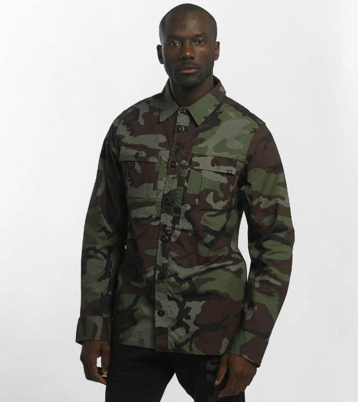 PA Sports Outfit Hemd Camouflage