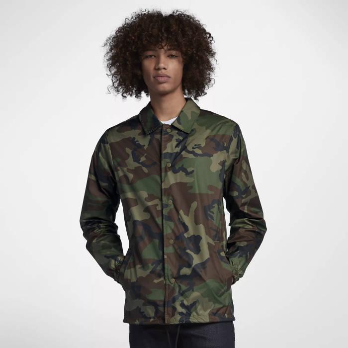 PA Sports Outfit Nike SB Hemdjacke Camo