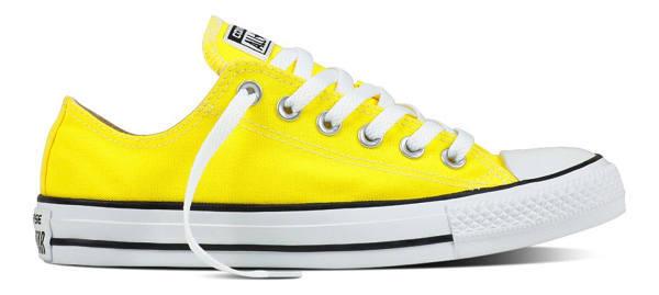 Spongebozz Schuhe Chucks gelb