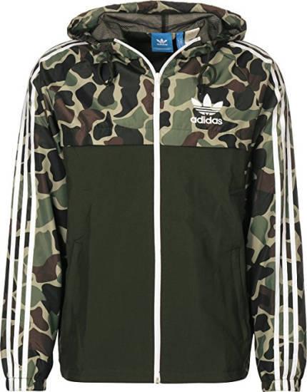 187 Straßenbande Adidas Jacke Camo