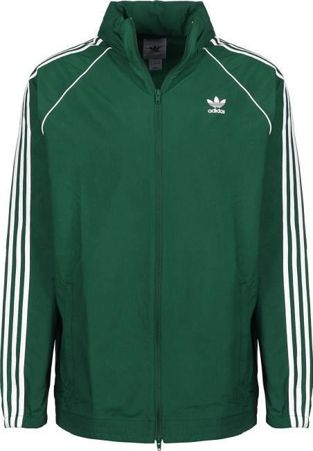 Hanybal Du Maroc alte Schule Frankfurt Adidas Jacke grün