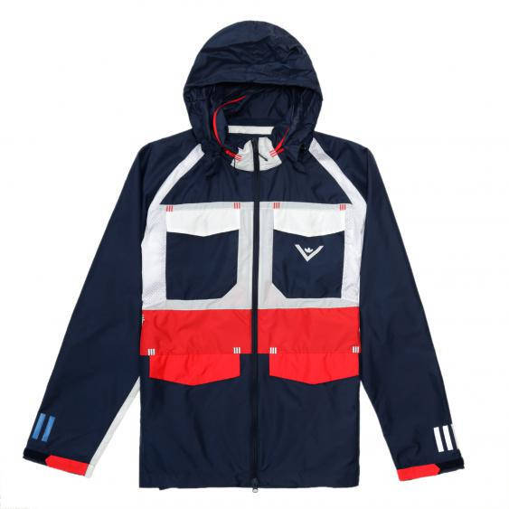 Asche Jacke Adidas X White Mountaineering Colorblock