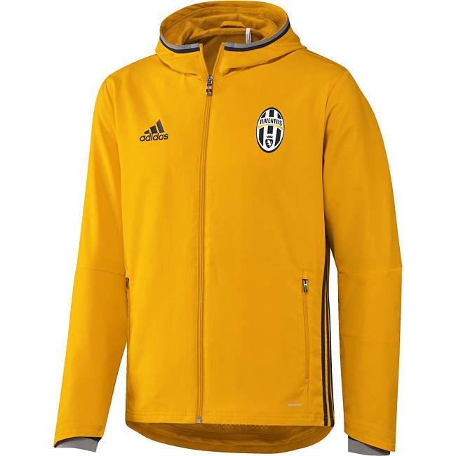 Asche Jacke gelb Adidas Juventus Turin Trainingsjacke