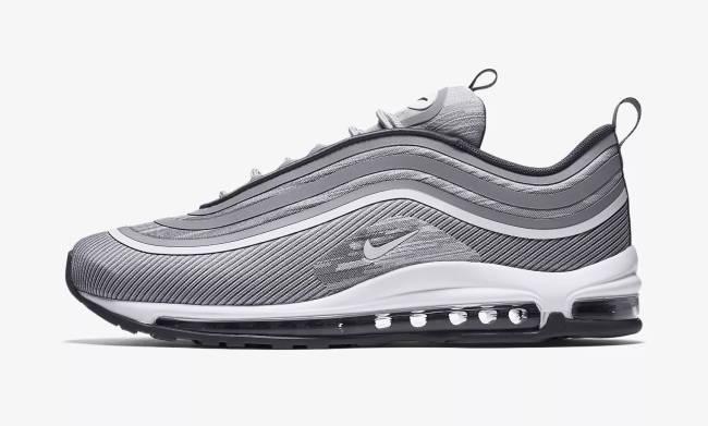 Asche Schuhe grau Nike Air 97