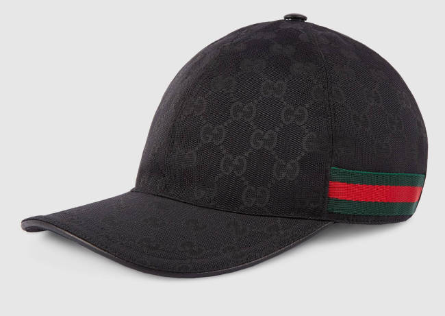 Capital Bra Gucci Cap schwarz