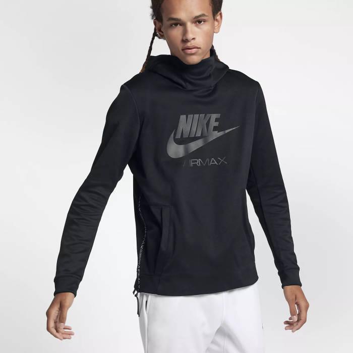 Du Maroc Outfit hoodie Nike Air Schwarz