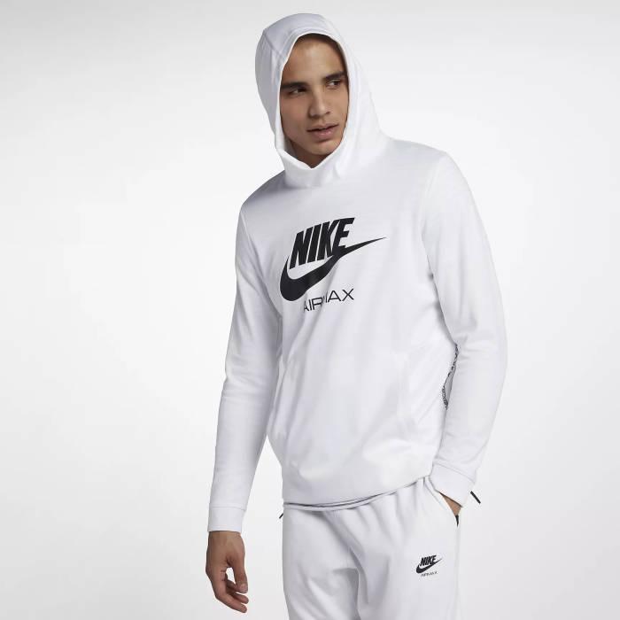 Du Maroc Nike Air Hoodie weiß