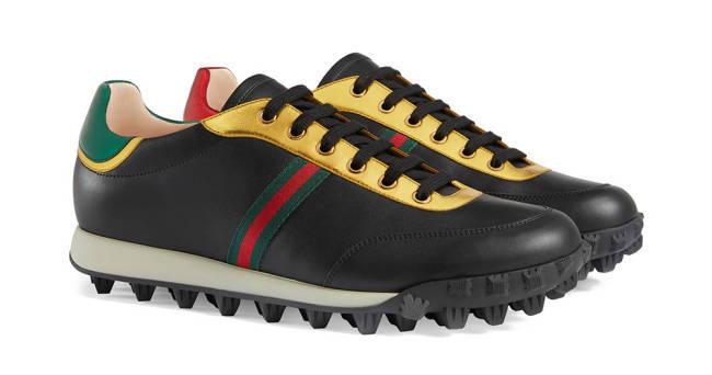 Du Maroc Gucci Schuhe schwarz