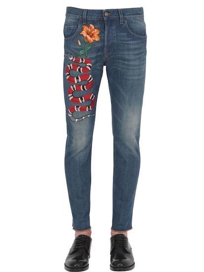 Gucci Jeans Schlange