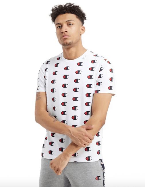 Gzuz Champion T-Shirt weiß Alternative