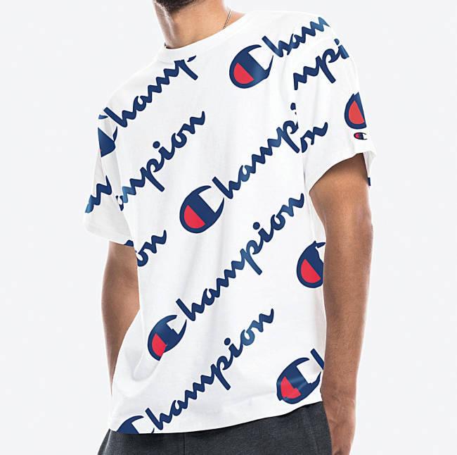 Gzuz Champion T-Shirt weiß