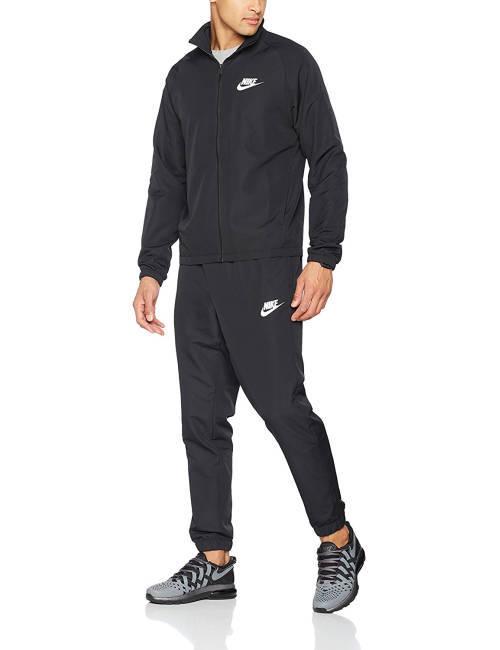Kontra K Trainingsanzug Nike schwarz