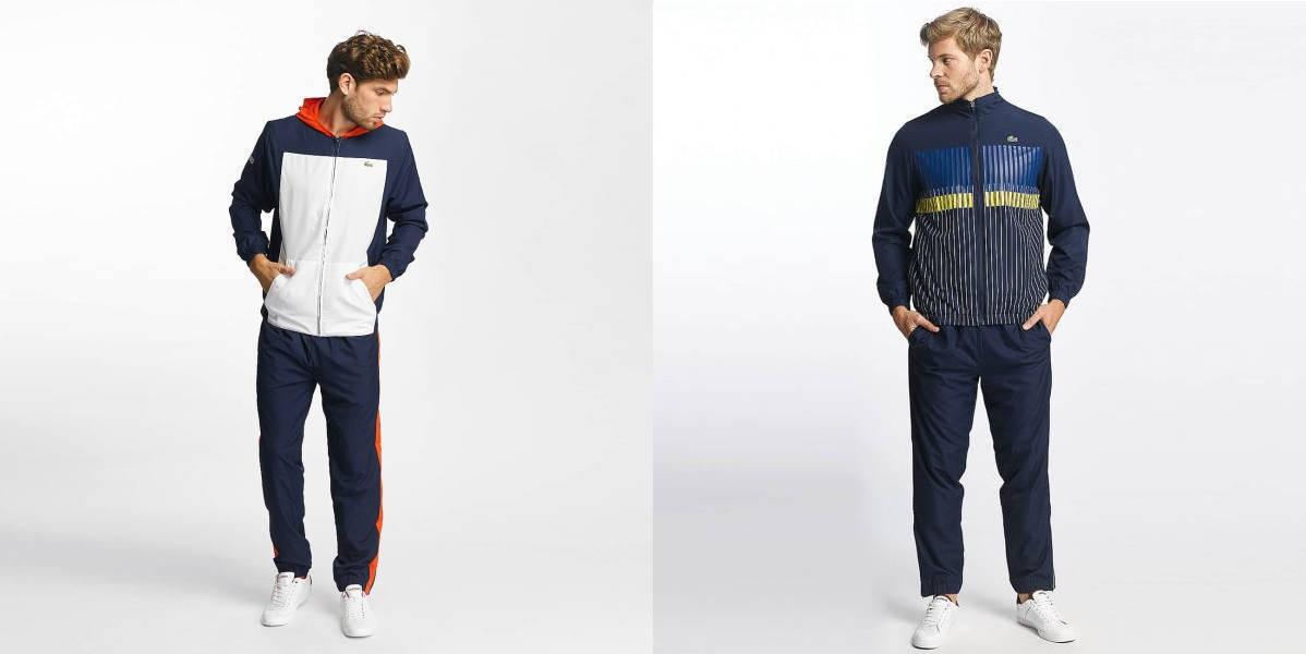 cheaper d7aa7 55e28 Lacoste Anzug: Die 11+1 stylischsten Trainingsanzüge 2018