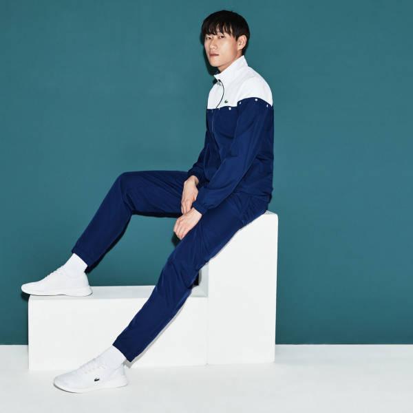 Lacoste Anzug blau weiß