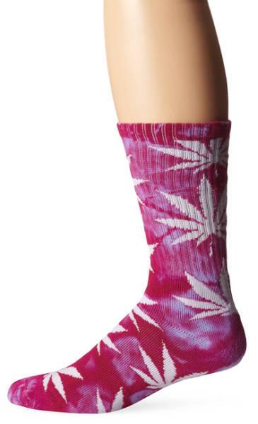 Weed Socken Pink