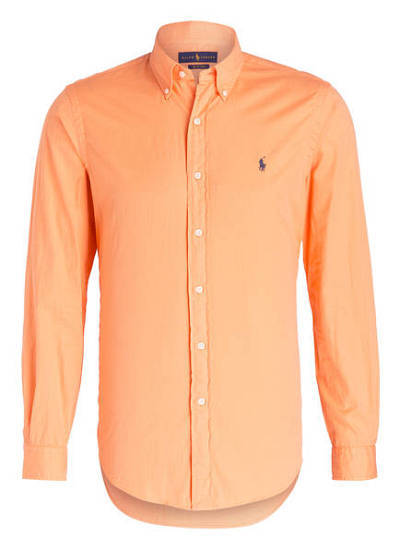 Mortel Hemd Orange Ralph Lauren Polo