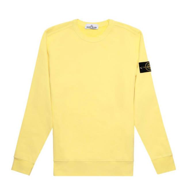 Mortel Stone Island Pullover gelb