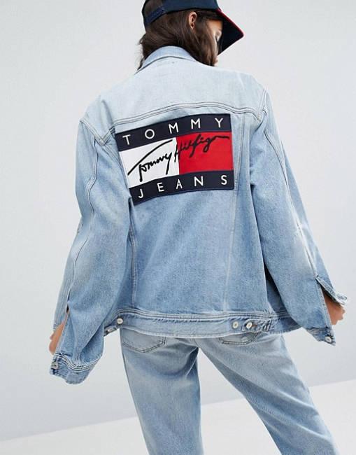 Sami Frau aus Habibi Tommy Hilfiger Jeansjacke