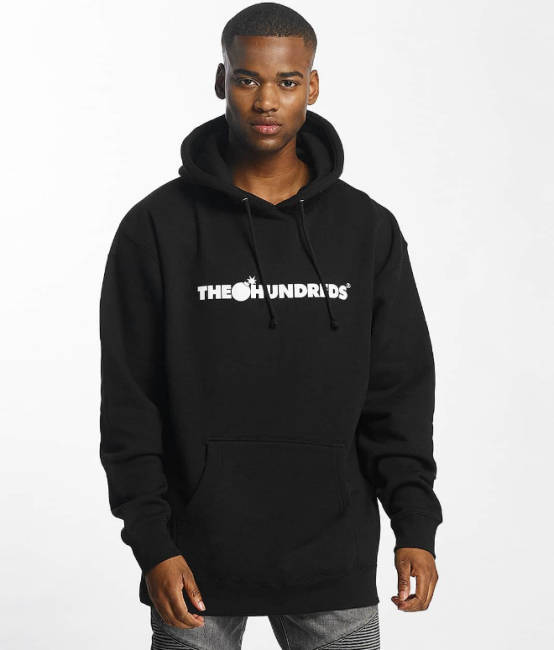 The Hundreds Hoodie schwarz