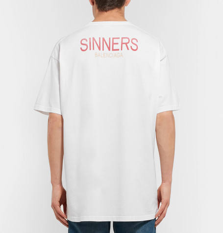 Ufo361 T-Shirt Sinners Balenciaga
