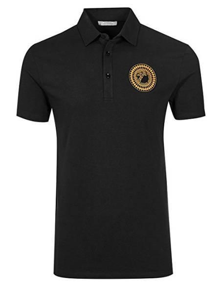 Versace Hemd Alternative Polo schwarz
