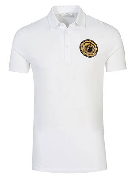 Versace Hemd Polo weiß