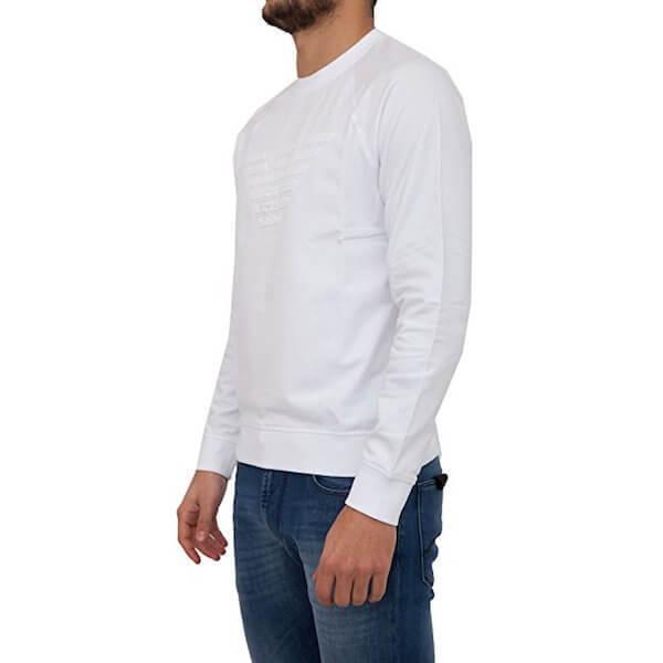 Gringo Sweatshirt weiß Armani