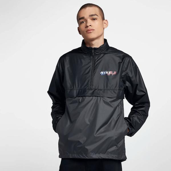 Gringo AK Ausserkontrolle Guzman Outfit Nike SB Jacke schwarz