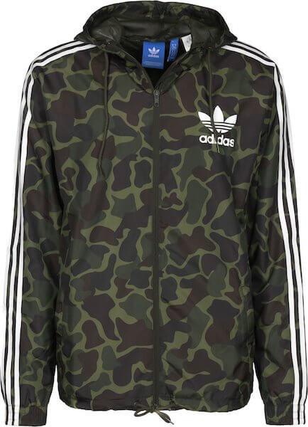 Adidas Camouflage Jacke Guzman Outfit