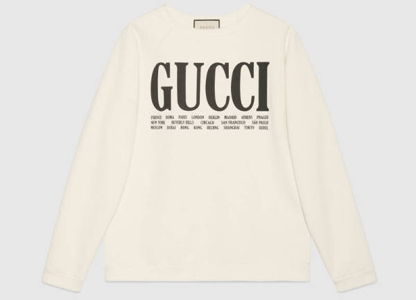 Capital Bra Pullover Gucci
