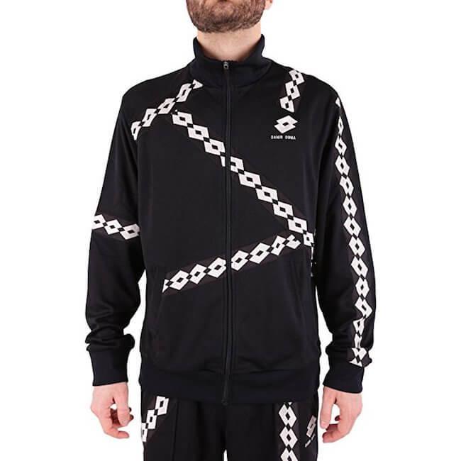 Lotto X Damir Doma Trainingsanzug schwarz