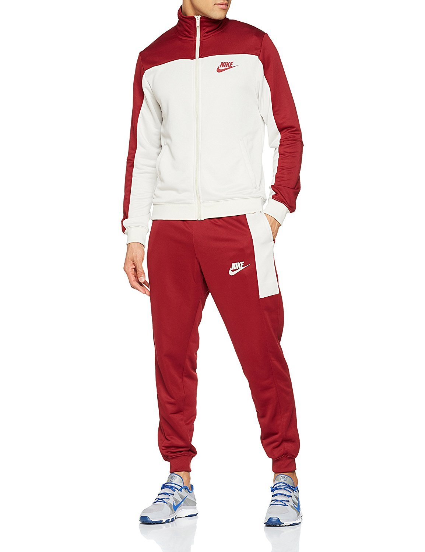 Nike Trainingsanzug rot weiß