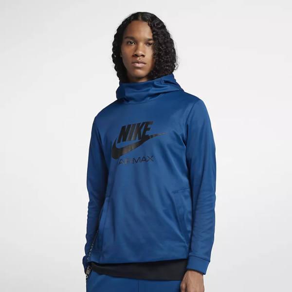 Niqo Nuevo Hoodie Nike Air Max blau