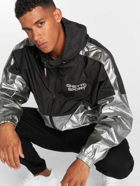 Ghetto Sport Jacke silber