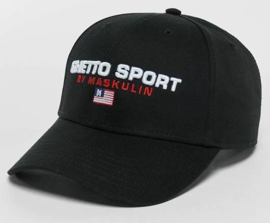 Ghettosport Maskulin Cap schwarz