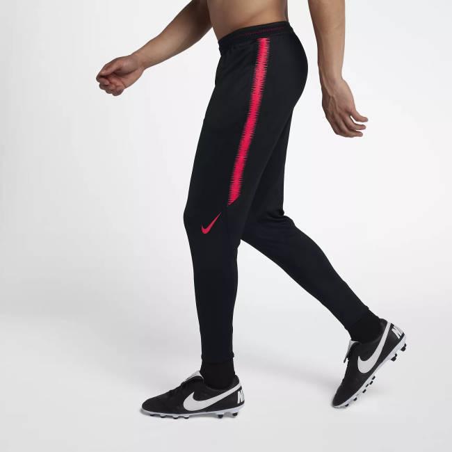 Samra Jogginghose schwarz rot