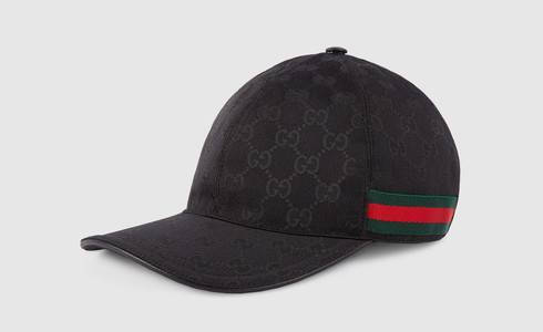 Gucci Capital Bra Cap schwarz