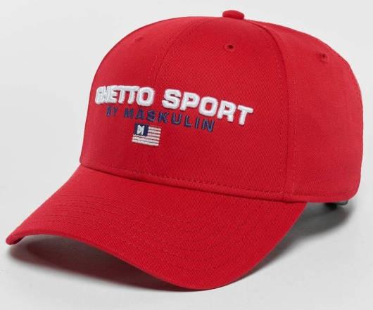 Ghetto Sport Cap rot
