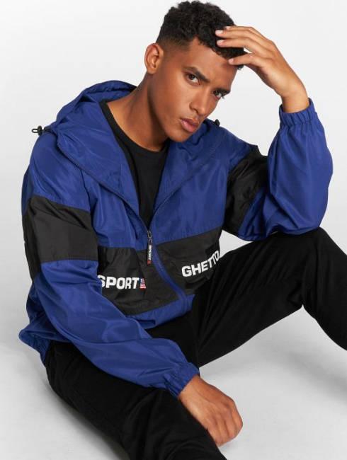 Ghetto Sport Jacke blau