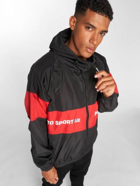 Ghetto Sport Jacke rot