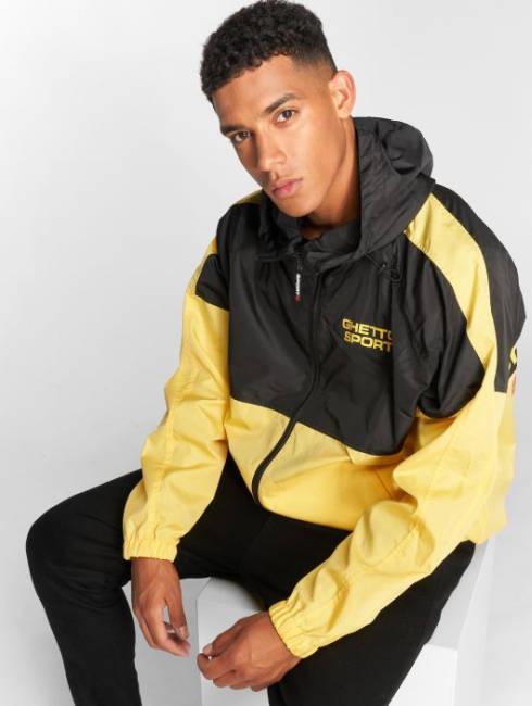 Ghetto Sport Jacke gelb