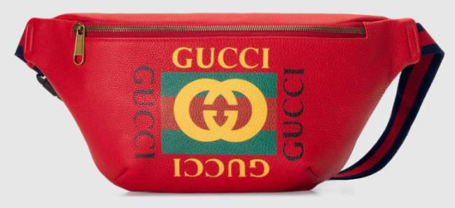Sun Diego Gucci Tasche rot