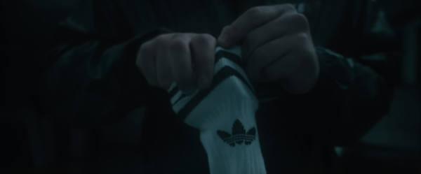 AK Ausserkontrolle Alles schon gesehen Jacke Socken Adidas