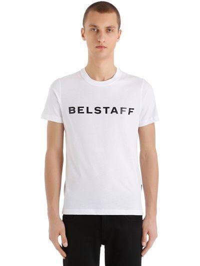 AK Ausserkontrolle T-Shirt Belstaff weiß Investment