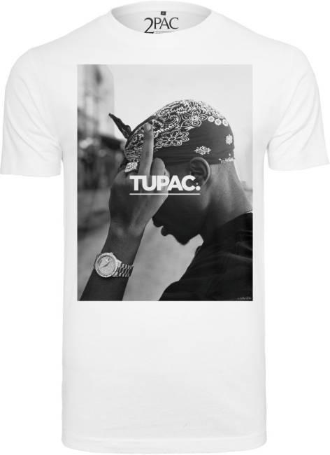 2Pac Tupac T Shirt weiß Al-Gear